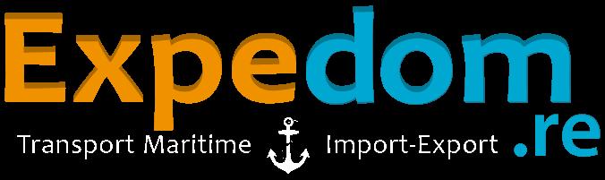 Logo Expedom transport maritime spécialisé dans l'import / export