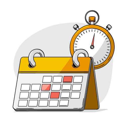 Illustration d'un agenda à télécharger